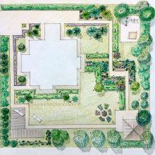 Дизайн участка - Ландшафтный дизайн РФ