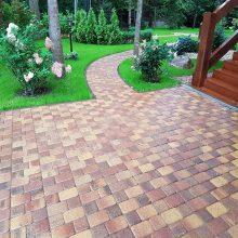 Укладка тротуарной плитки - Ландшафтный Дизайн РФ