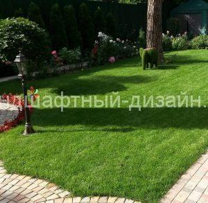 Посевной газон - студия Ландшафтный дизайн РФ