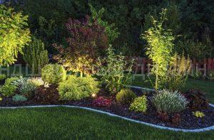 Садовое освещение - студия Ландшафтный Дизайн РФ